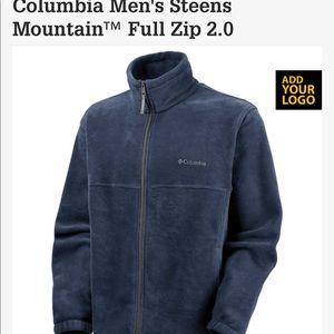 Columbia Men's Steens Mountain Full Zip 2.0 Size L